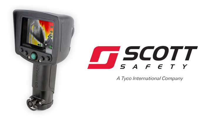Five-button X380 thermal imager powered by ISG technology